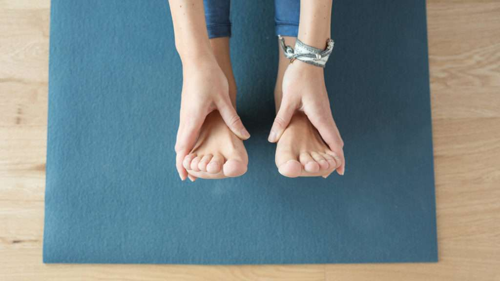 Gute Vorbereitung ist sehr wichtig für Yoga für Anfänger.